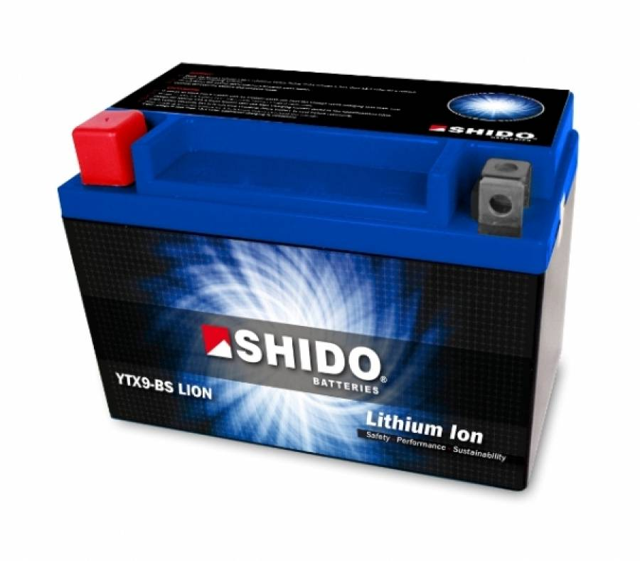 SHIDO Batterie YTX5L-BS LI-ION